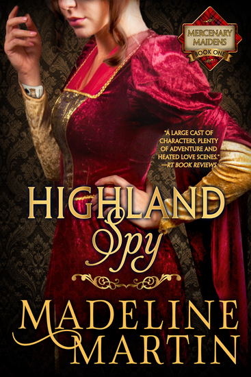 Highland Spy - Mercenary Maidens - Book One - cover