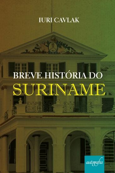 Breve História do Suriname - cover