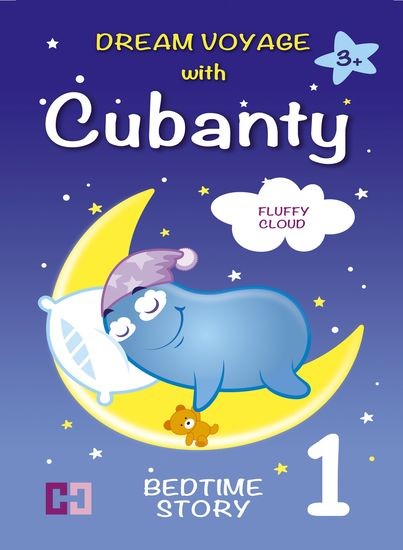 FLUFFY CLOUD – Bedtime Story To Help Children Fall Asleep for Kids from 3 to 8 - Dream Voyage with Cubanty - cover