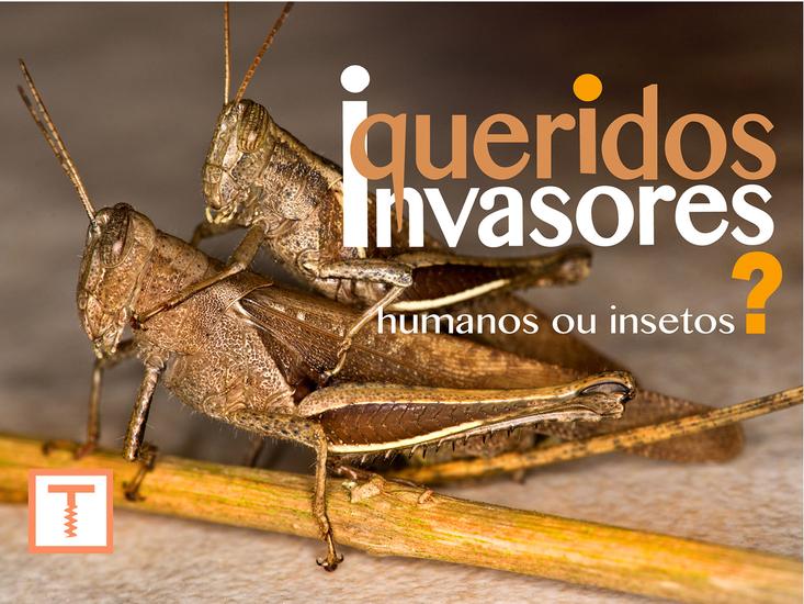 Queridos Invasores - Humanos ou insetos ? - cover