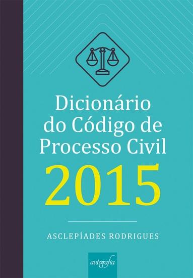 Dicionário do Código de Processo Civil de 2015 - cover