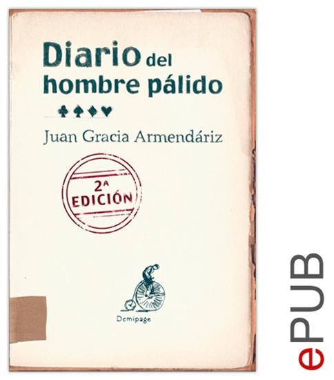 Diario del hombre pálido - Testimonio sobre la enfermedad - cover