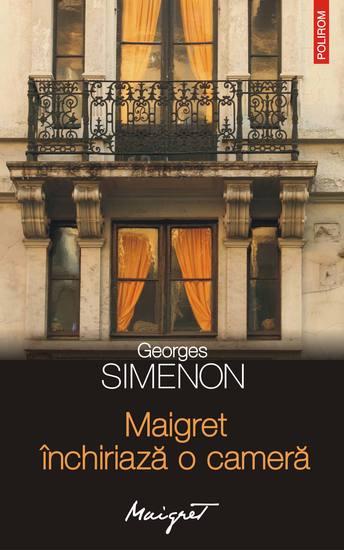 Maigret închiriază o cameră - cover