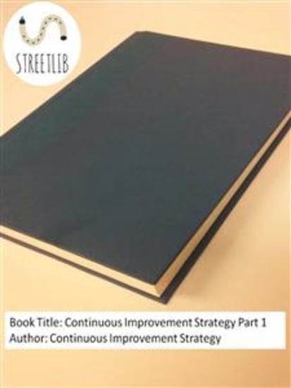 Continuous Improvement Strategy Part 1 - cover