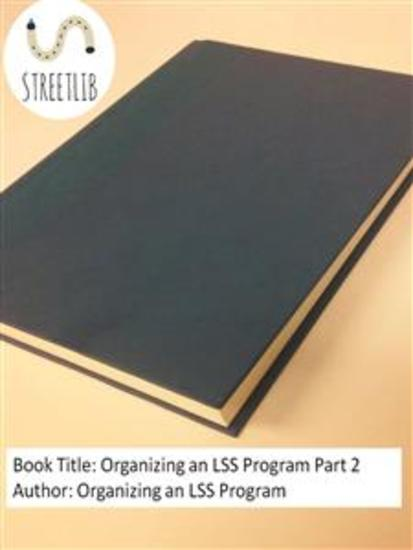 Organizing an LSS Program Part 2 - cover