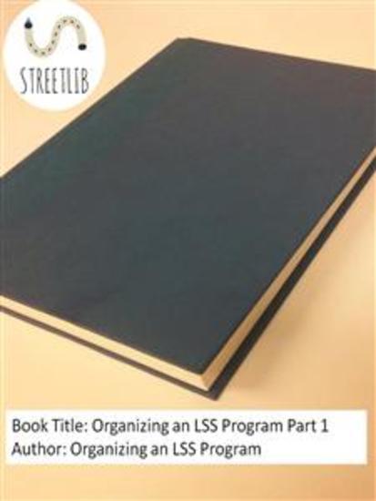 Organizing an LSS Program Part 1 - cover