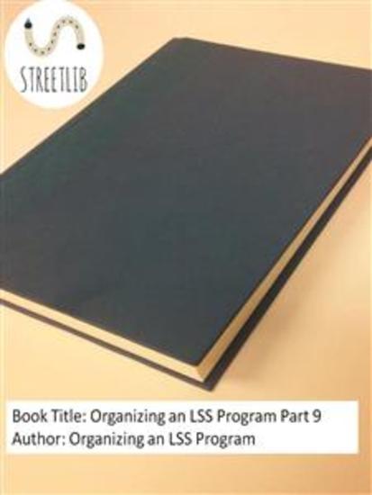 Organizing an LSS Program Part 9 - cover