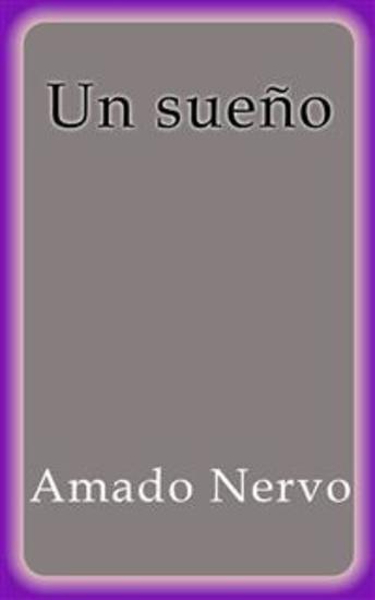 Un sueño - Amado Nervo - cover