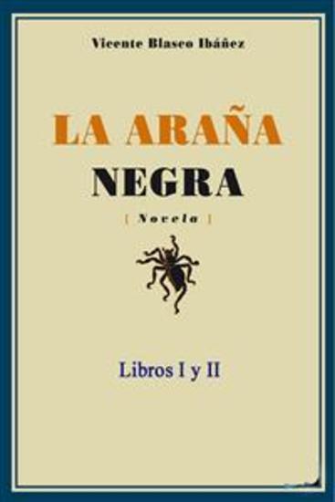 La araña negra - Libros I y II - cover