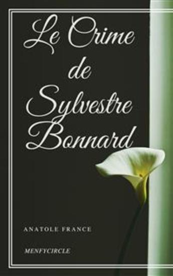 Le Crime de Sylvestre Bonnard - cover