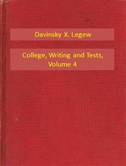 College Writing and Tests V4 - cover