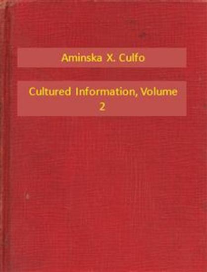 Cultured Information V2 - cover