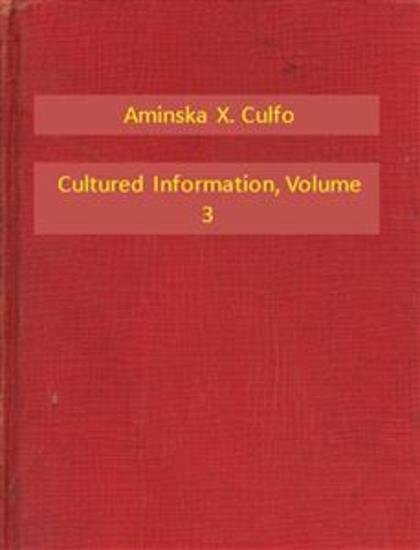 Cultured Information V3 - cover