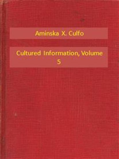 Cultured Information V5 - cover