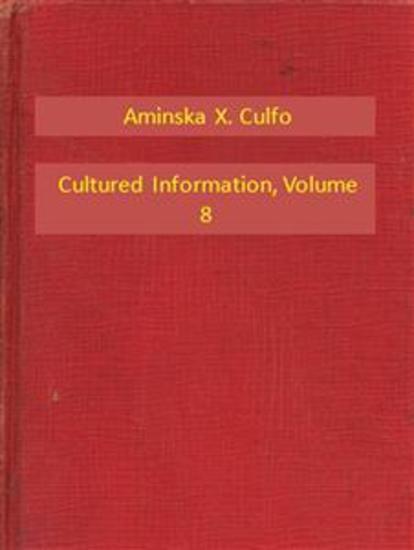 Cultured Information V8 - cover