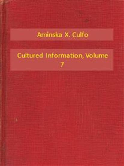 Cultured Information V7 - cover