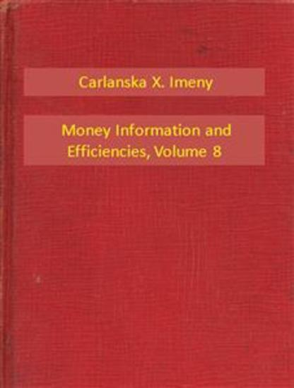 Money Information and Efficiencies V8 - cover