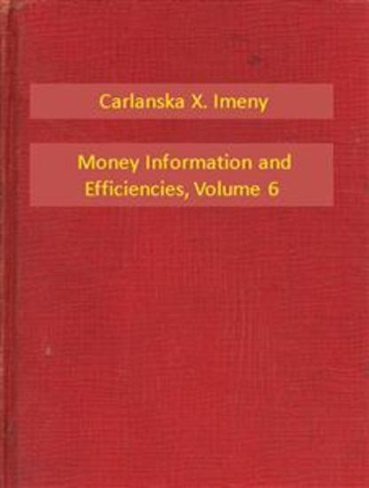 Money Information and Efficiencies V6 - cover