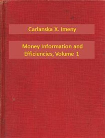 Money Information and Efficiencies V1 - cover