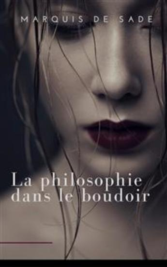 La Philosophie dans le boudoir - cover