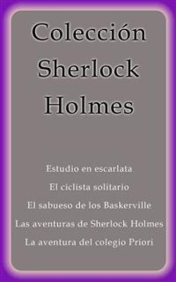 Colección Sherlock Holmes - cover