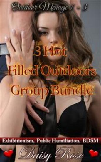 3 Hot Filled Outdoors Group Bundle - Books 1 - 3 of 'Outdoor Menage' - cover
