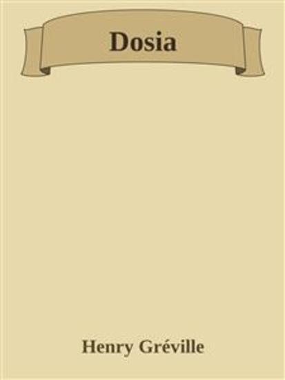 Dosia - cover