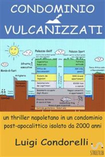 CONDOMINIO VULCANIZZATI - un thriller napoletano in un condominio post-apocalittico isolato da 2000 anni - cover
