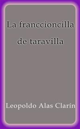La franccioncilla de taravilla - cover