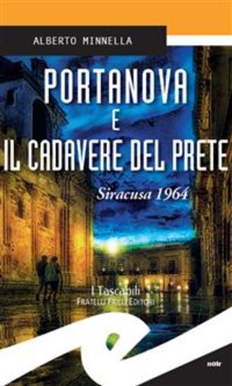 Portanova e il cadavere del prete Siracusa 1964 - cover