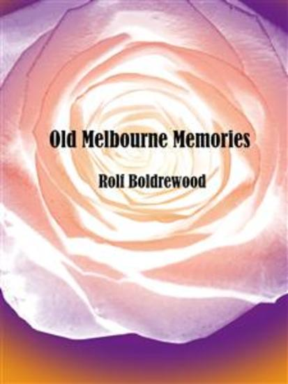 Old Melbourne Memories - cover
