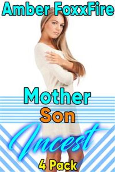 Mother Son Incest 4-Pack - Mother Son Erotica Older Woman Younger Man Incest Taboo Sleep Sex Breeding MILF Creampie Erotica Mommy Erotica - cover