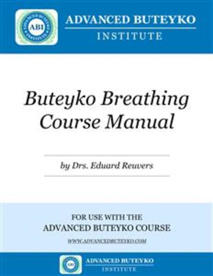 Buteyko Breathing Course Manual - cover