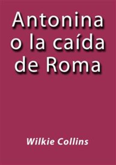 Antonina o la caída de Roma - cover