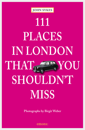 111 Places in London that you shouldn't miss - cover