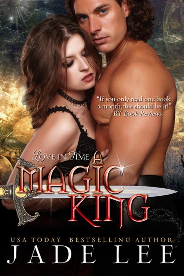 A Magic King (The Jade Lee Romantic Fantasies Book 3) - cover