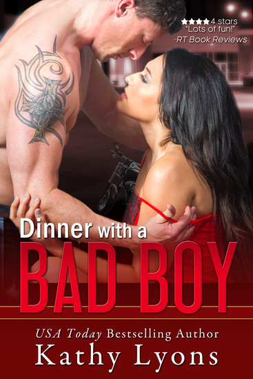 Dinner With a Bad Boy (A Novella) - cover