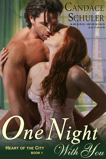 One Night With You (The Heart of the City Series Book 1) - cover