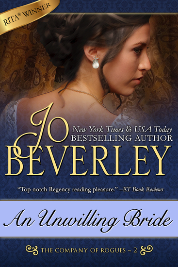 An Unwilling Bride (The Company of Rogues Series Book 2) - cover