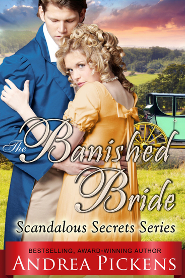 The Banished Bride (Scandalous Secrets Series Book 1) - cover