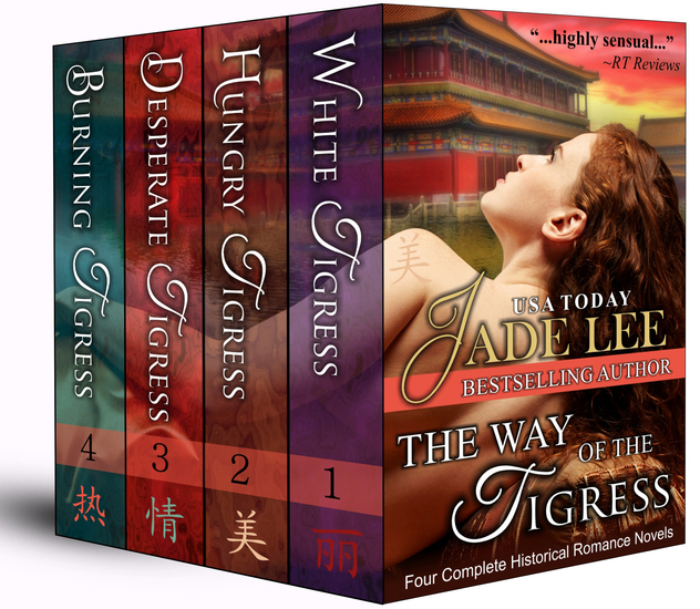 The Way of The Tigress (Four Complete Historical Romance Novels) - cover