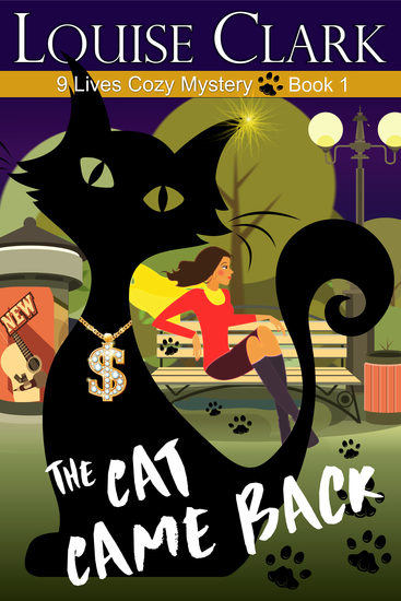 The Cat Came Back (The 9 Lives Cozy Mystery Series Book 1) - cover