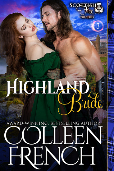 Highland Bride (Scottish Fire Series Book 3) - cover
