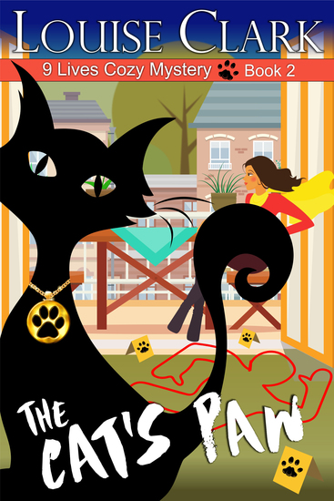 The Cat's Paw (The 9 Lives Cozy Mystery Series Book 2) - cover