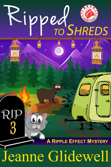 Ripped To Shreds (A Ripple Effect Cozy Mystery Book 3) - cover