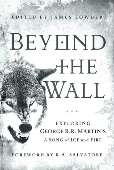 Beyond the Wall - Exploring George R R Martin's A Song of Ice and Fire From A Game of Thrones to A Dance with Dragons - cover