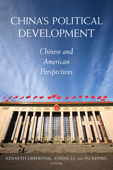 China's Political Development - Chinese and American Perspectives - cover