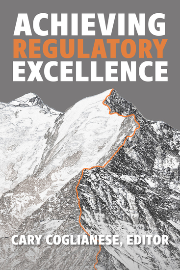 Achieving Regulatory Excellence - cover