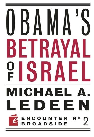 Obama's Betrayal of Israel - cover
