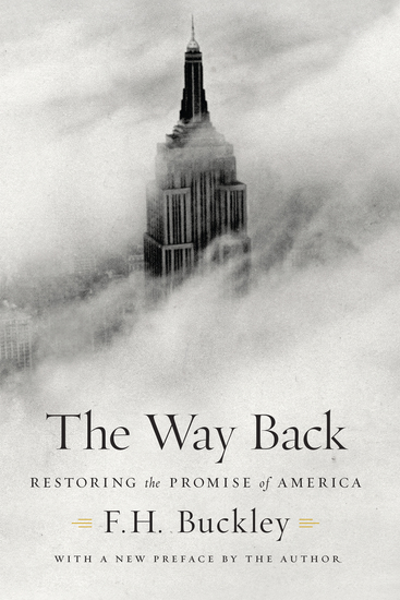 The Way Back - Restoring the Promise of America - cover
